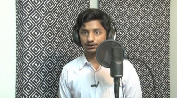 Talented student from Quetta aspires to be a singer