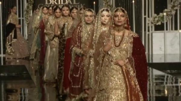 Fashion galore at Bridal Couture Week in Lahore