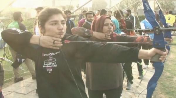 Archery gaining popularity among women in Pakistan