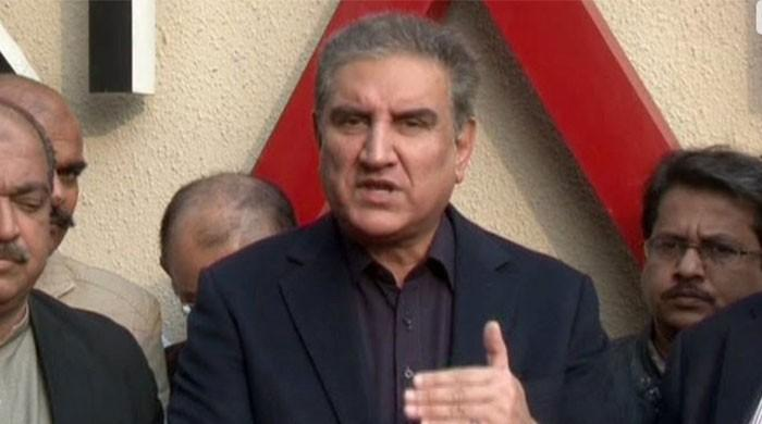 US now reiterating PM Imran and my stance: FM Qureshi