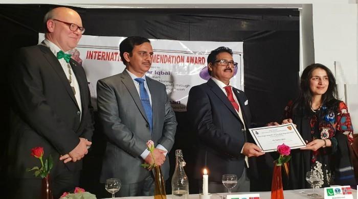 Norwegian-Pakistani community leader conferred prestigious award
