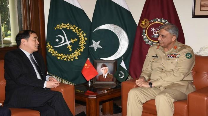 Pakistan, China have all-weather relationship, COAS tells Chinese minister