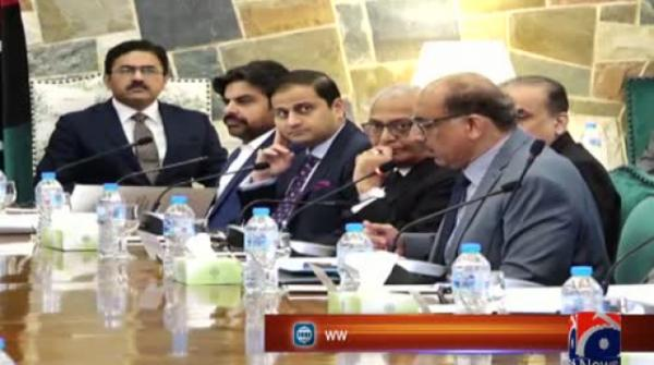 CM Sindh presides over meeting of provincial apex committee
