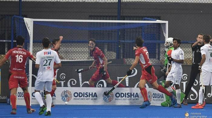 Pak crash out of World Cup after emphatic 5-0 defeat by Belgium
