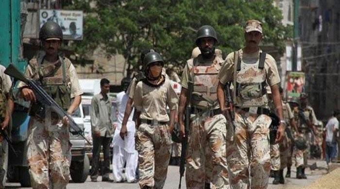 Sindh Rangers seize huge cache of arms, arrest two MQM- South Africa activists