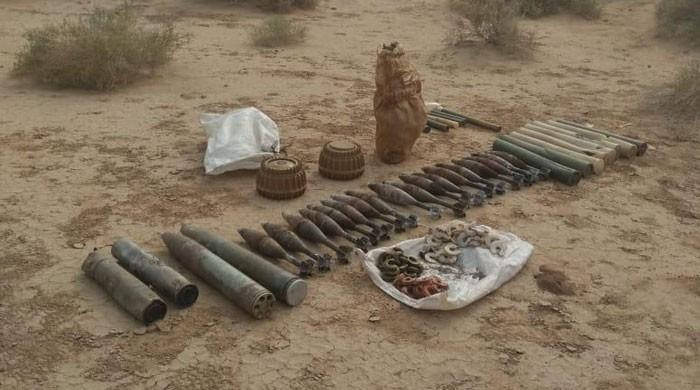 FC recovers arms cache from Sibbi suburbs