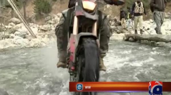 Motorcycle rally in Swat