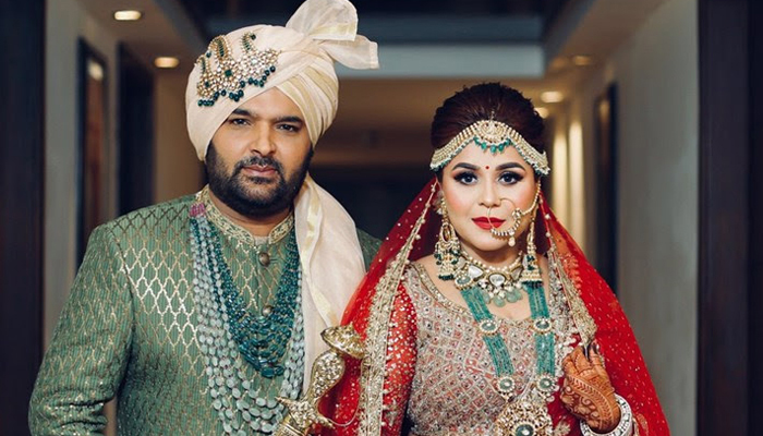 FIRST PIC: Newlyweds Kapil Sharma and Ginni Chatrath look stunning