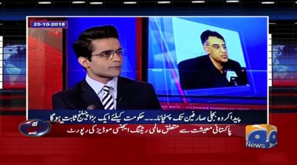 Aaj Shahzeb Khanzada Kay Sath - 13 December- 018