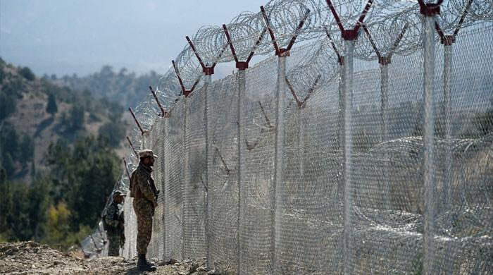 Work on 233 forts, fencing of 802km Pak-Afghan border completed