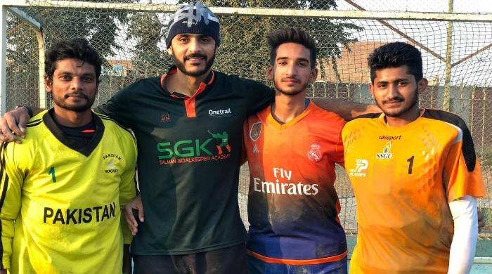 Former hockey captain Salman Akbar steps up to train junior goalkeepers