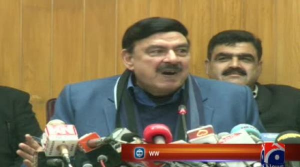 'Disappointed' Sheikh Rasheed retracts invitation to Lal Haveli for journalists