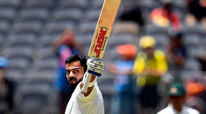 Kohli joins Tendulkar with six centuries in Australia