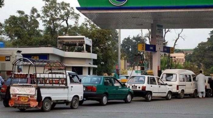 CNG stations across Sindh to be closed from 8pm today till Tuesday