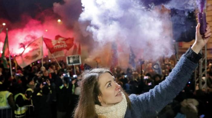 'All I want for Christmas is democracy,' say Hungary protesters