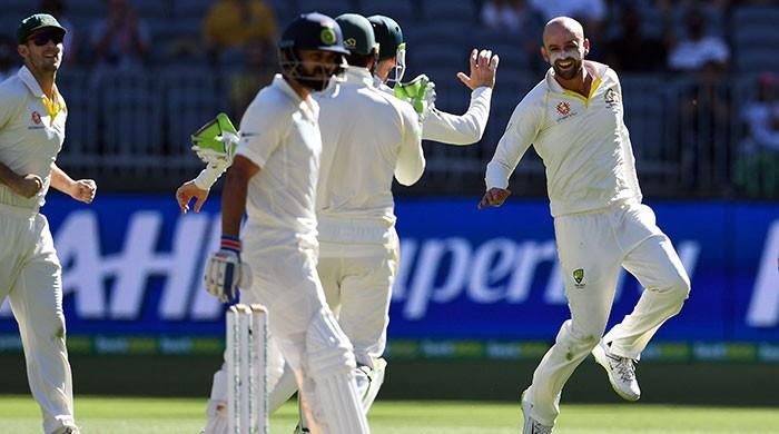 Kohli falls to Lyon as Australia close in on win