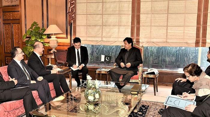 Turkish Interior Minister, PM Imran discuss ways to enhance bilateral ties