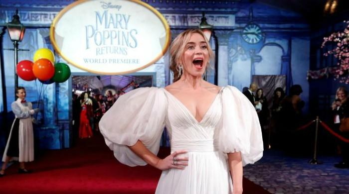 Emily Blunt's terrifying moment as the new Mary Poppins