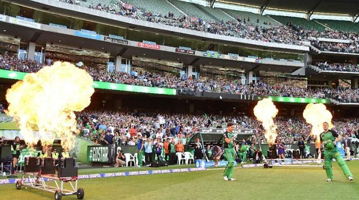 Kids' stuff and bat flips: Australia's Big Bash bursts back to life