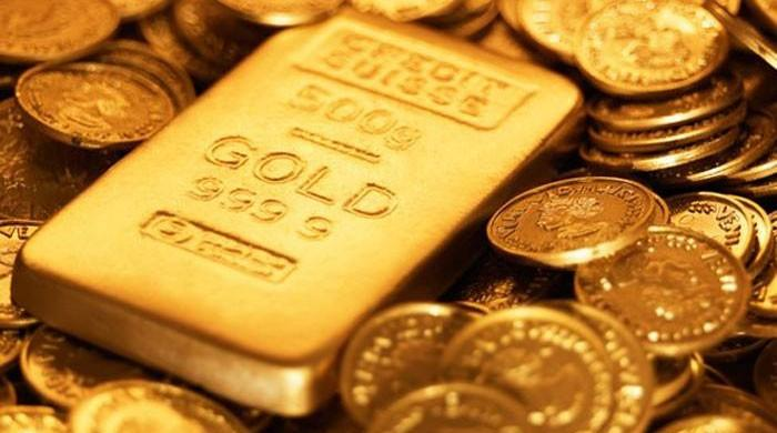 Gold shoots up by Rs1,450 per tola in one day