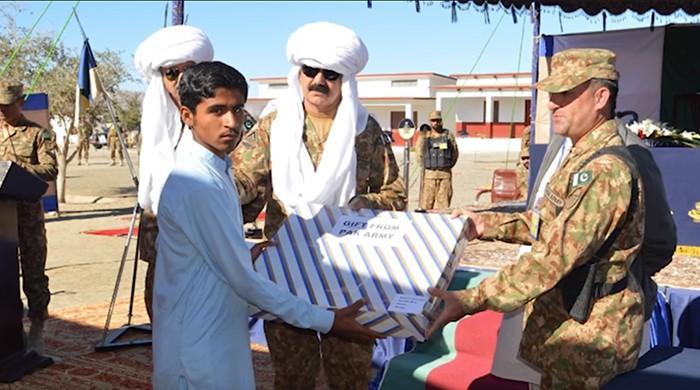 Pakistan Army hands over model village in Mashkai to earthquake survivors
