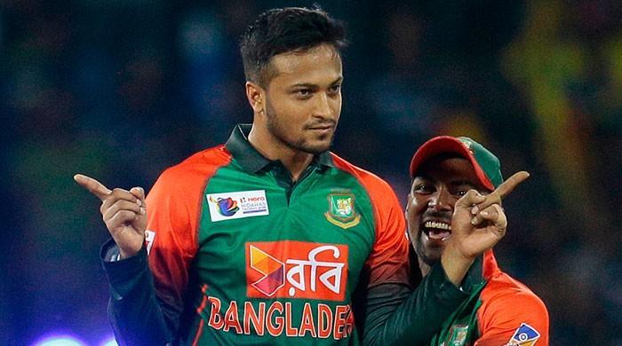 Bangladesh's Shakib fined for shouting at umpire
