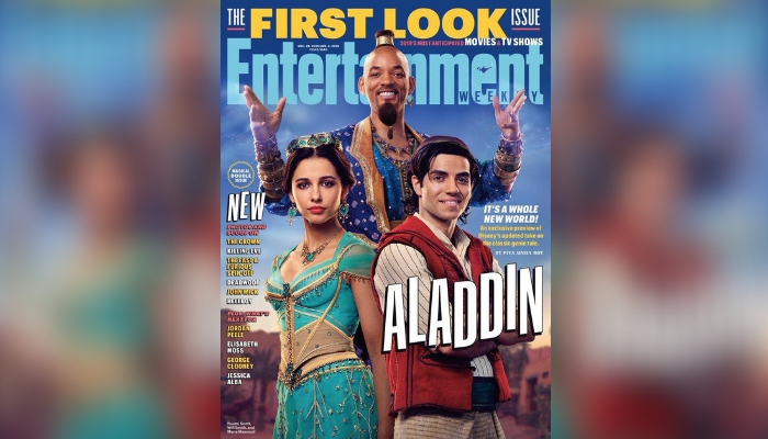 Twitter Is Not Impressed With Will Smith's Genie Look in 'Aladdin'