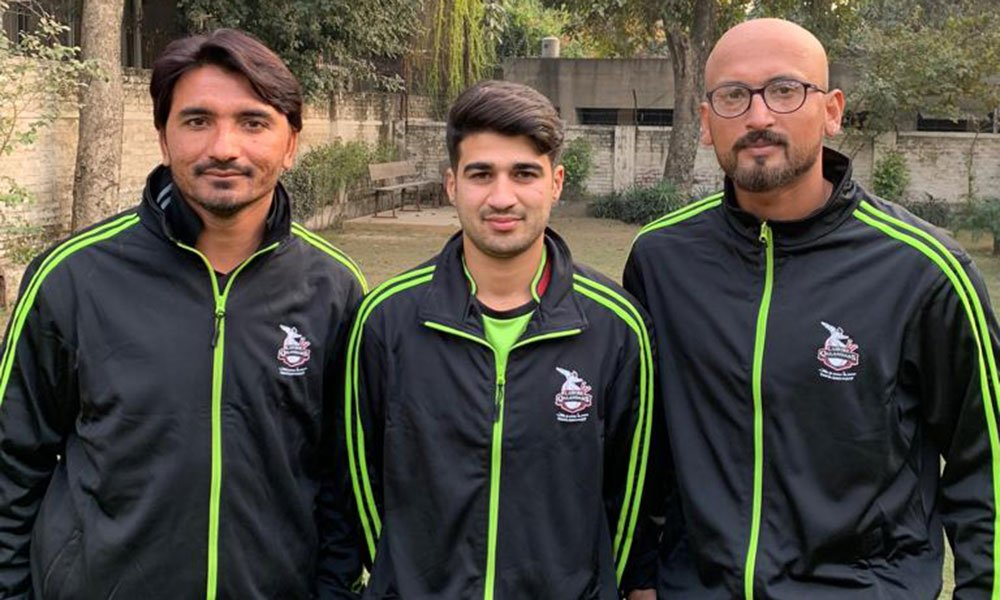 Image result for Maaz Khan cricketer