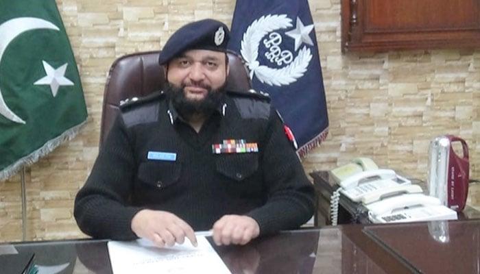 Wajid Zia takes charge as IG Railways Police   Pakistan - Geo tv