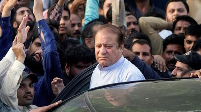 Nawaz given seven-year jailterm in Al-Azizia reference, arrested from courtroom