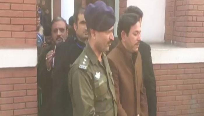 Image result for PML-N MNA Afzal Nadeem Khokhar Arrested