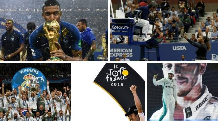 2018 sporting highlights: Mbappe stars, ball-tampering scandal, Serena outburst
