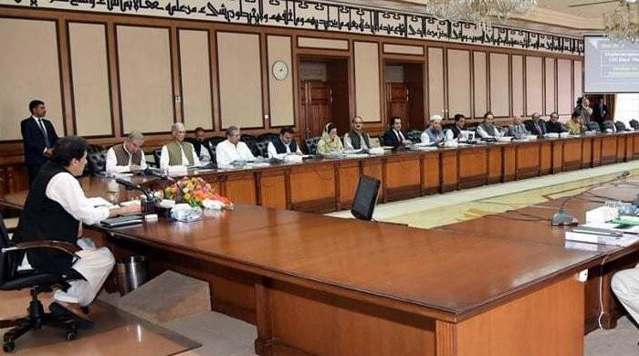 PM Imran chairs federal cabinet meeting