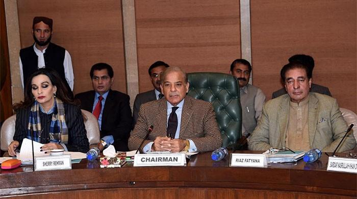 Shehbaz Sharif chairs first PAC meeting