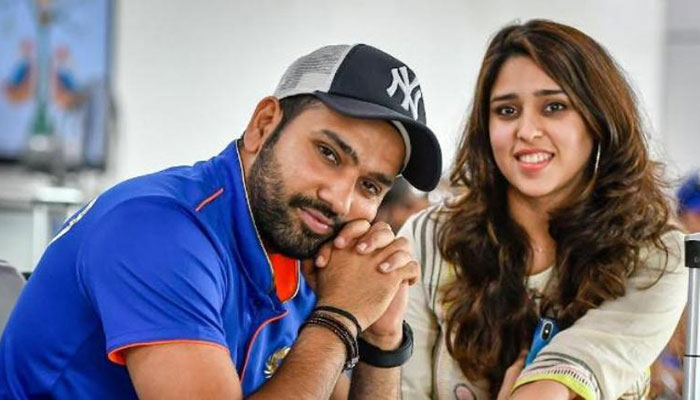 Rohit Sharma and wife welcome their first baby home