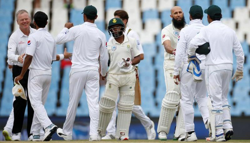 South Africa chase 41-run target in second Test
