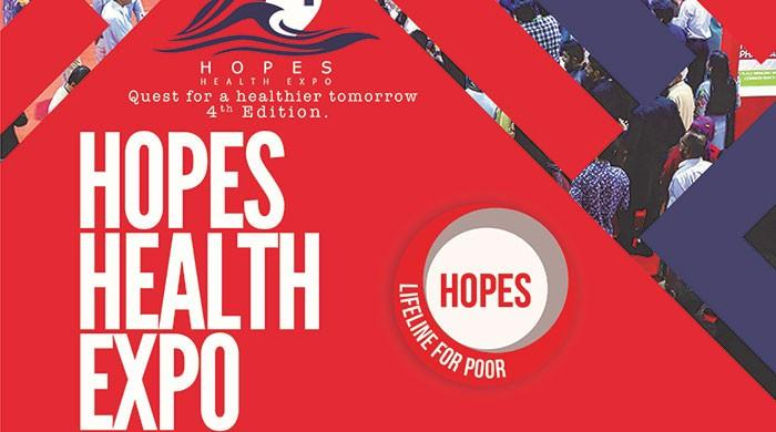 HOPES to conduct fourth health expo on Jan 6 in Karachi