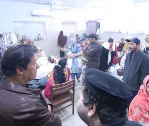 PM Imran pays surprise visit to Rawalpindi hospital, shelter home
