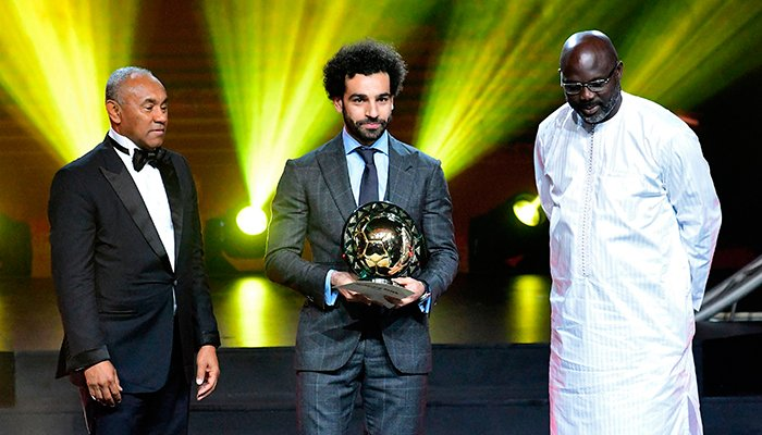 Mohamed Salah: Liverpool and Egypt forward named Caf African Player of the Year