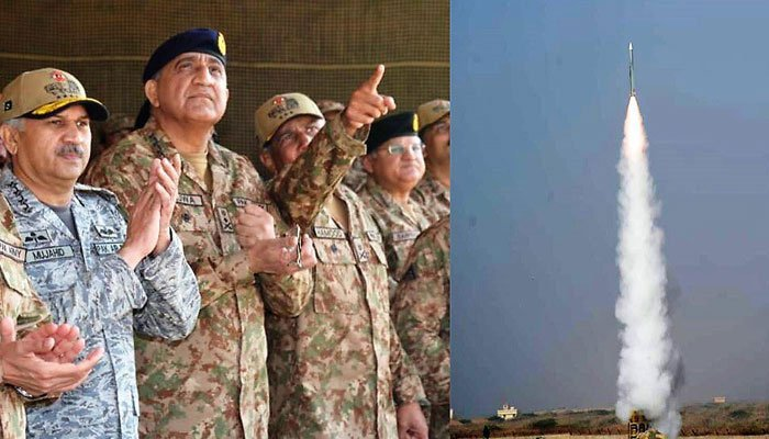 Pakistan army displays fire capability of air defence system in
