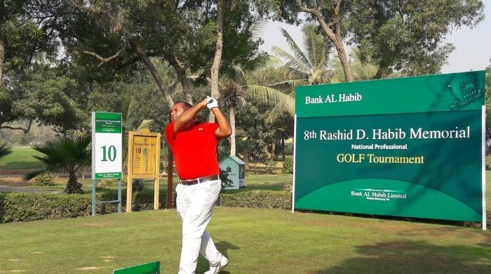 Matloob Ahmed leads on first day of Rashid D. Habib Memorial National Professional Golf