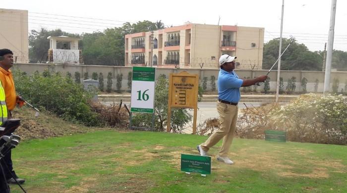 Matloob Ahmed maintains lead in Rashid D. Habib golf championship