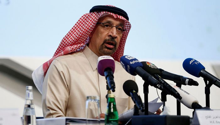 Saudis say OPEC oil cuts on `right track' to balance the market