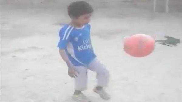 7-year-old football prodigy from Balochistan dreams of becoming Cristiano Ronaldo