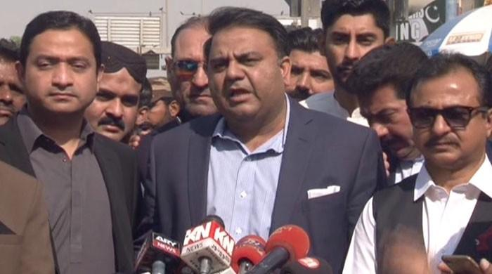 Fawad Chaudhry warns of 'practical steps' if PPP fails to bring change in Sindh
