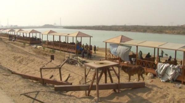 Aqua beach, a hidden getaway near Karachi