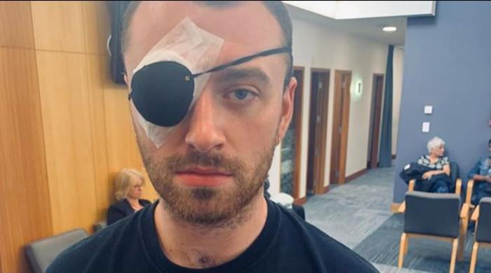 Sam Smith has eye surgery in New Zealand
