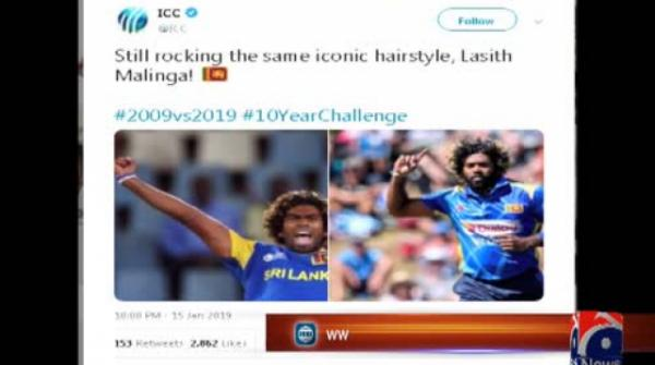 #10YearChallenge takes the world by storm