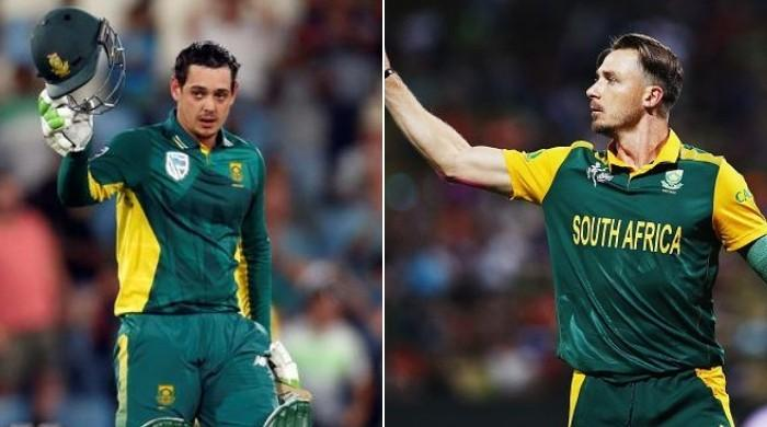 Steyn, de Kock rested for first two ODIs against Pakistan