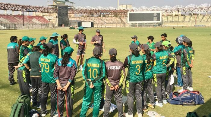 Pakistan women team aims to improve fitness as camp for WI series kicks off